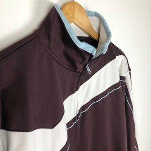 Billabong Jackets & Coats - Billabong Vintage Full Zip Warm Up Jacket Size XL